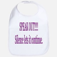 """Speak Out"" Bib"