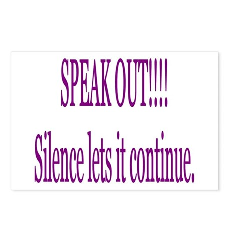 """Speak Out"" Postcards (Package of 8)"