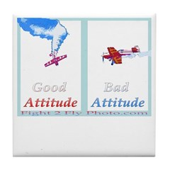 Bad Attitude Tile Coaster