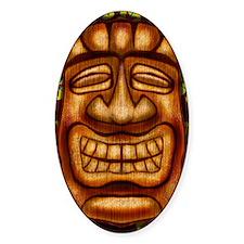 Happy Tiki Print Decal