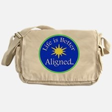 Life is Better Aligned with sun Messenger Bag