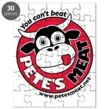 Petes Meat black text Puzzle