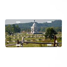 Battle of Gettysburg Aluminum License Plate