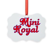 mini royal Ornament