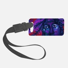 Mother Watching All Luggage Tag