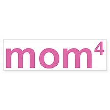 momOfFourKids1A Bumper Sticker