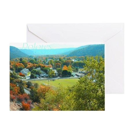 Dolores Evening Greeting Card
