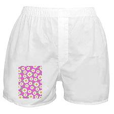 Cute Daisy Pattern 5x7 Boxer Shorts