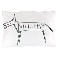 Horse Illustration in Pencil Pillow Case