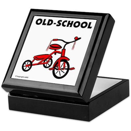 Old-School Tricycle Keepsake Box