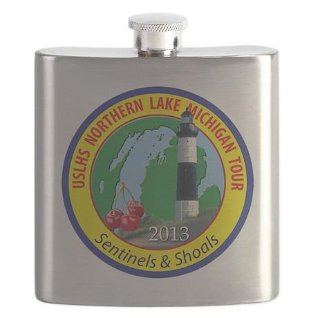 Northern Lake Michigan Tour Flask