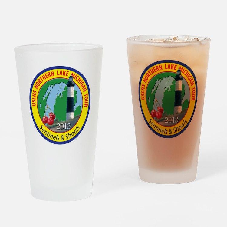 Northern Lake Michigan Tour Drinking Glass