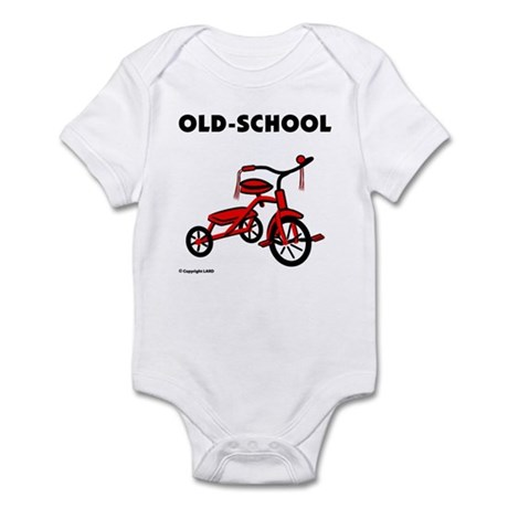 Old-School Tricycle Infant Bodysuit