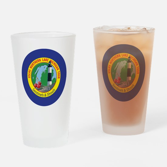 Northern Lake Michigan Tour Drinking Glass