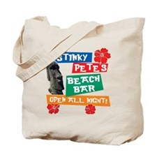 Stinky Petes Beach Bar Tote Bag