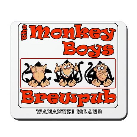 Monkey Boys Brewpub Mousepad
