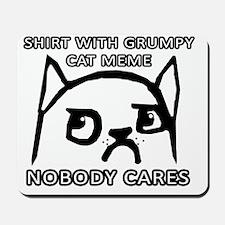Grumpy Cat Meme Original Mousepad