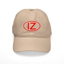IZ Oval (Red) Baseball Cap