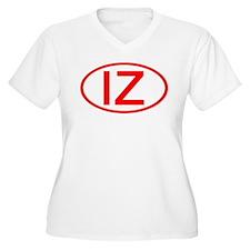 IZ Oval (Red) T-Shirt