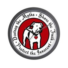 Response-a-Bull Rescue Logo Wall Clock
