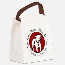 Response-a-Bull Rescue Logo Canvas Lunch Bag