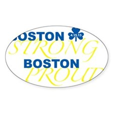 Boston Strong Boston Proud Decal
