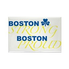Boston Strong Boston Proud Rectangle Magnet