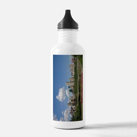 Edmonton Skyline and B Water Bottle