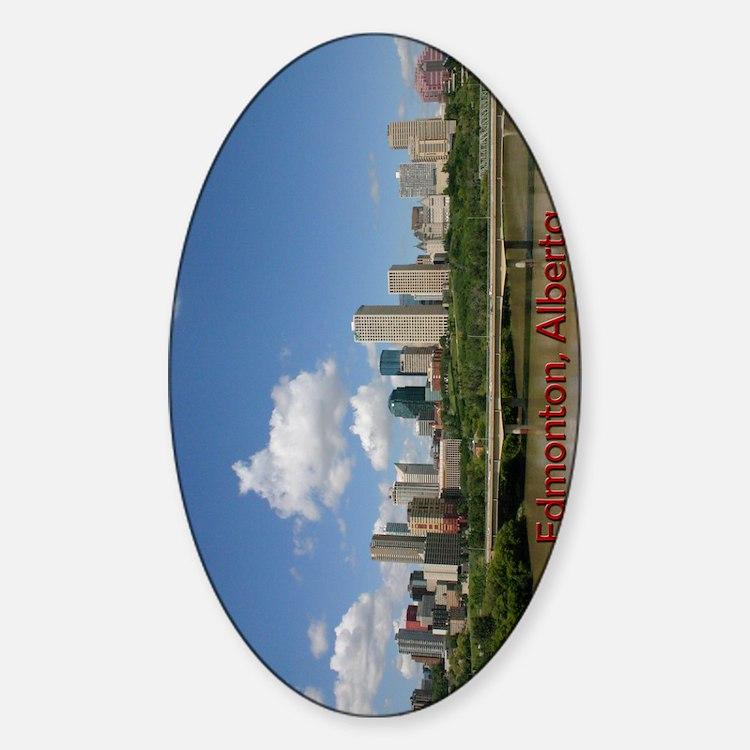 Edmonton Skyline and Bridge on a Su Decal