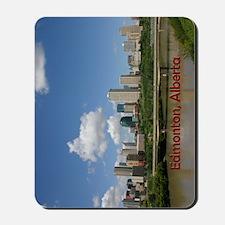 Edmonton Skyline and Bridge on a Sunny D Mousepad