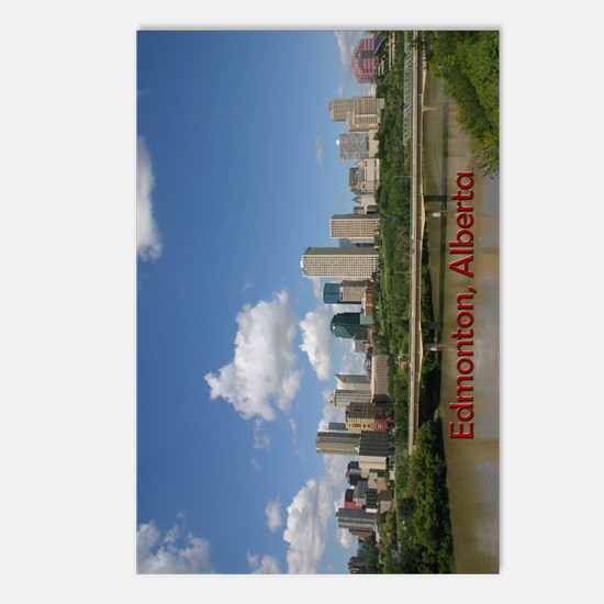 Edmonton Skyline and Brid Postcards (Package of 8)