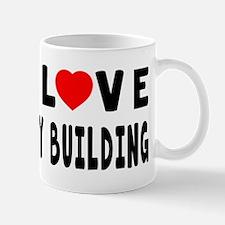I Love Body Building Mug