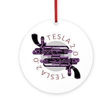 Tesla 2.0 Round Ornament
