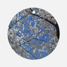 Cherry Blossom Round Ornament