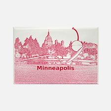 Minneapolis_10.2X7.6_Spoonbridge  Rectangle Magnet