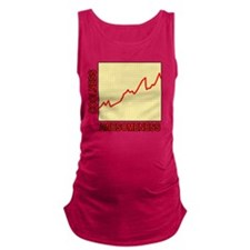 Awesomeness Graph Maternity Tank Top