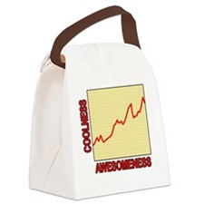 Awesomeness Graph Canvas Lunch Bag