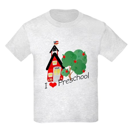 I Love Preschool Kids Light T-Shirt