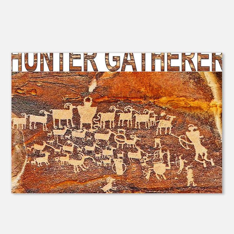 Hunter Gatherer Primitive Postcards (Package of 8)