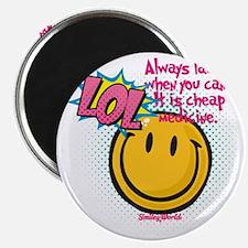 lol smiley Magnet