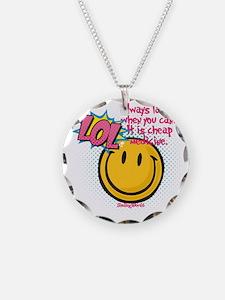 lol smiley Necklace