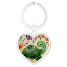 ODAT One day at a time Heart Keychain