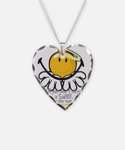offering smiley Necklace