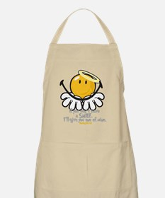 offering smiley Apron