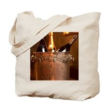 Bucket of Champagne Tote Bag