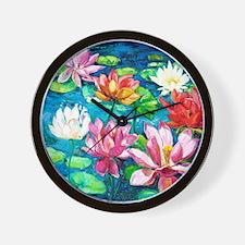 showercurtain681 Wall Clock