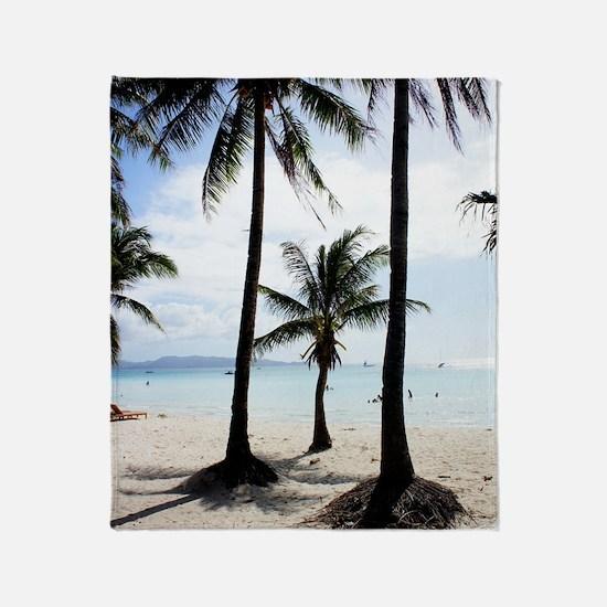 Boracay Philippines Throw Blanket