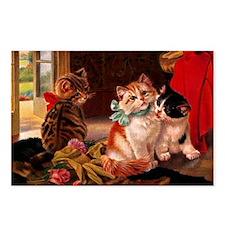 tvk_Rectangular Canvas Pi Postcards (Package of 8)