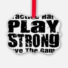 Play Strong Workout Ornament