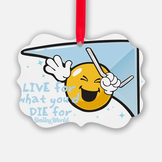 die for tomo smiley Ornament